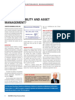 What is Reliability and Asset Management