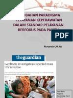 Perubahan Paradigma Pelayanan Keperawatan Dalam Patient Centered Care