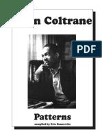 [Piano Patterns]Jazz Book - John Coltrane Patterns