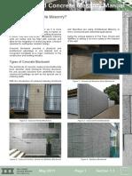 NZCMA MM - 1.1 - What is Concrete Masonry