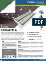 Estelar High Bay LED Linear Innova Lights