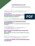 Link Dokumen Peningkatan Mutu Dan Keselamatan