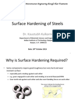 Surfce Hardening of Steels