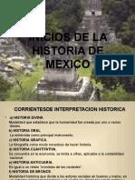 Inicio de la Historia en México.ppt