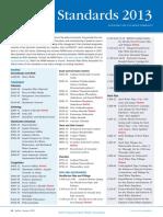 AWWA List of Standards