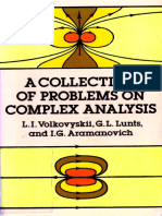 L. I. Volkovyskii, G. L. Lunts, I. G. Aramanovich-A Collection of Problems on Complex Analysis-Dover Publications (1991)