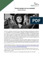 Yasmine Grasser - Edith Piaf Formó Pareja Con Su Soledad (18.10.2015)