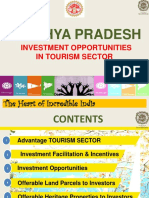 Madhya Pradesh - Investment Opportunities in Tourism Sector