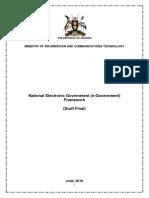 Uganda National Electronic Government Framework