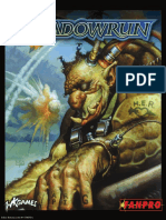 Shadowrun Gamemasters Screen SR3