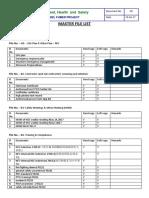 EHS Master File List - NFC