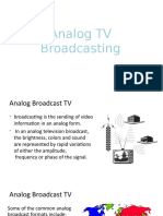 Analog TV Broadcasting