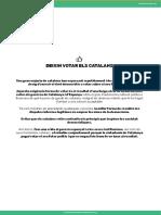 Personalitats Internacionals a Favor Del Referèndum