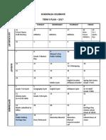 Term Planner Term 3 2017
