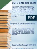 Purpose of GATE Exam