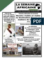 la semaine africaine N 3710