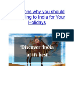 7 Reasons Why You Should Be Heading to India for Your Holidays