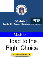 Module 1 Road to TheRight Choice.jan7