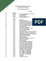 01 Job Guideline Index
