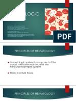 Hematologic Nursing