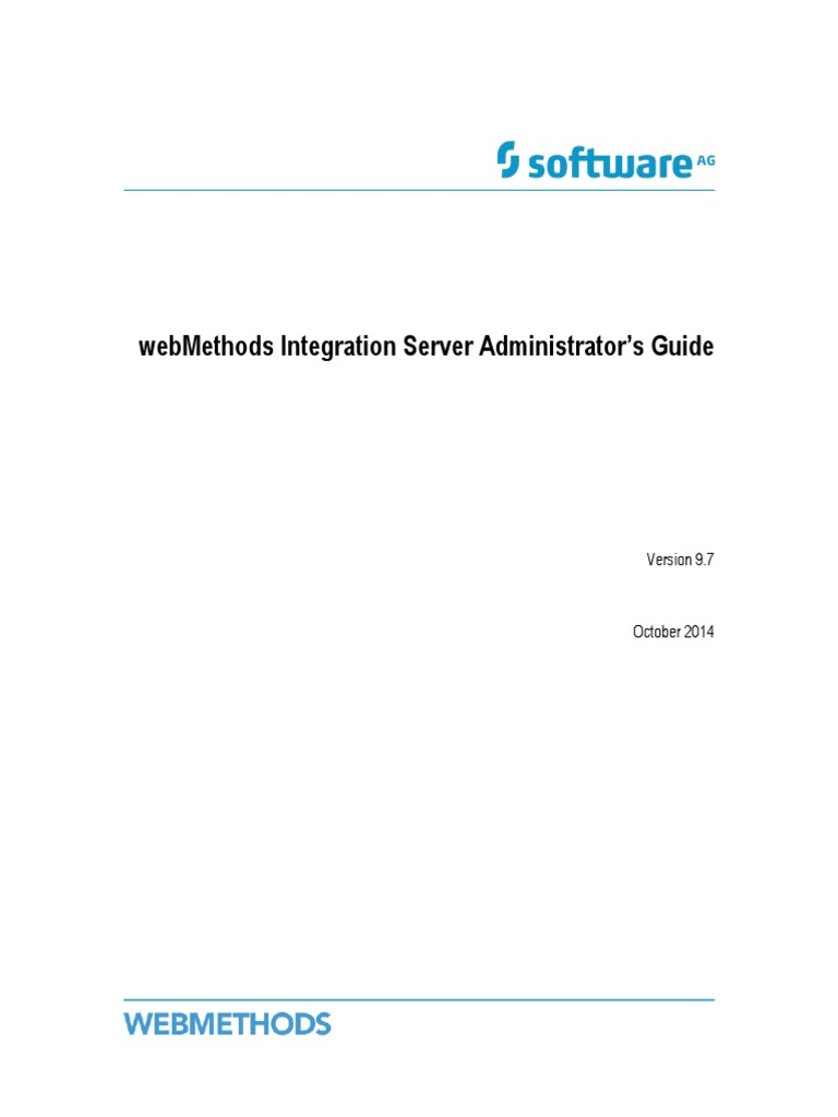 9 7 Integration Server Administrators Guide Port Computer Networking Hypertext Transfer Protocol