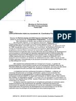 Lettre de Motivation M KEITA Coordinateur Programmes Secours Islamiques France (SIF)