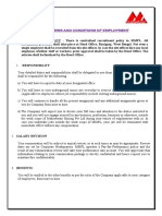 General Terms and Conditions of Appointment 1
