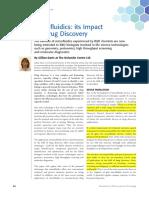 Microfluidics Its Impact on Drug Discovery