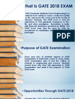 GATE Exam for What Purpose