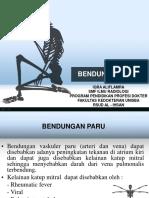 CSS Radiologi gambaran Bendungan Paru
