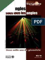 (Bibliothèque Tangente HS 53) Collectif-Les angles sous tous les angles _ Deux mille ans de géométrie-POLE (2015)