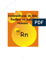 Radonio  RN222  gaz encontrado nas analise de geobiologia