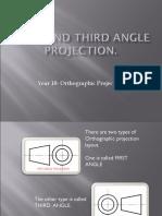 First and Third Angle Proj..