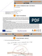 ACIEE. on the Road to Tolerance - Social Research Result