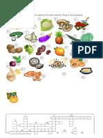 4567 Food Crossword