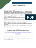 Fisco e Diritto - Corte di Cassazione n 2937 2010