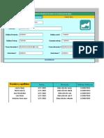 Plantilla de Agenda Telefonica Para Excel