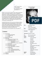 Wikipedia - Karl Popper