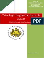 Tehnologii integrate în plantațiile viticole