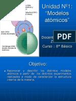 Unidad Modelos Atómicos