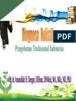 Diagnostik Holistik - Prof. Amarullah