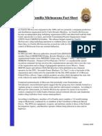 La Familia Michoacana Fact Sheet