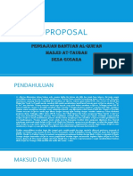 PROPOSAL Pengadaan Al-qur'An