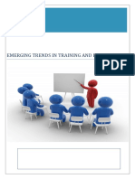 Emerging Trends in Training and Development_New