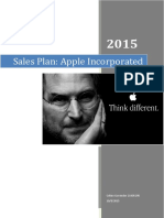 Apple Sales Plan