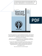Evaluation of Hepatotoxicity and Clastogenicity of Carbofuran in Male