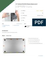 MacBook Pro 13_ Unibody Mid 2012 Display Replacement - Ifixit