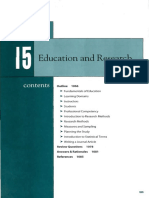 Chapter 15 - Educationand Research