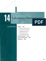 Chapter 14 - Laboratory Management