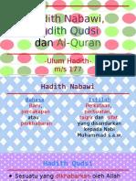 Hadith-Nabawi-Hadith-Qudsi-Dan-Al-Quran.pptx